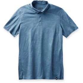Smartwool Merino Sport 150 Polo trøje Herrer, blå